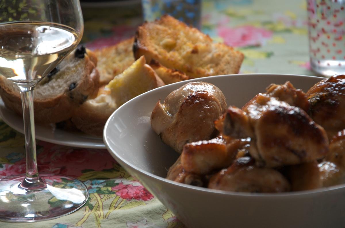 Pollo al Miele e Limone di Rachel Khoo