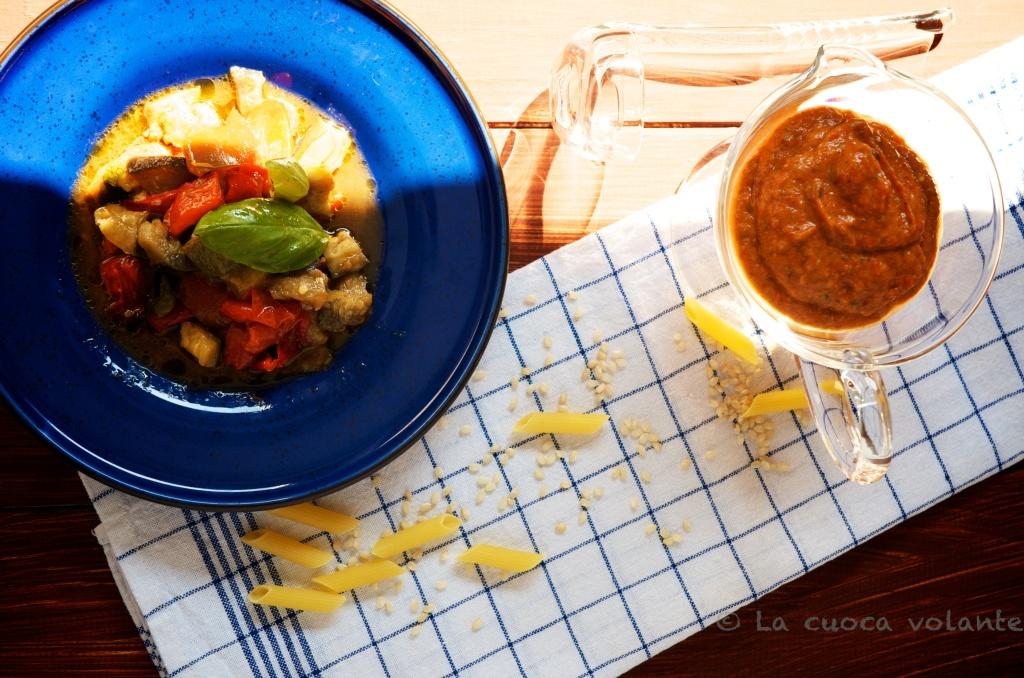 Crema di Verdure al Forno per pasta, pane o riso!
