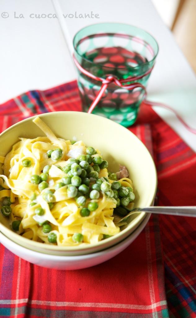 L'Artusi in 15 minuti,un Marito e la Cucina: Spaghetti con i Piselli di Pellegrino Artusi 105