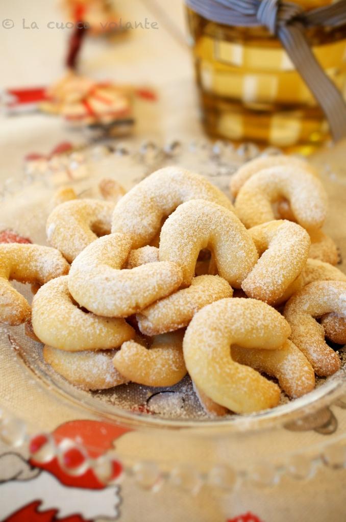 Biscotti di Natale in Alto Adige: Vanillekipferln