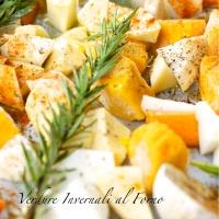 Verdure Invernali al forno con Cous Cous