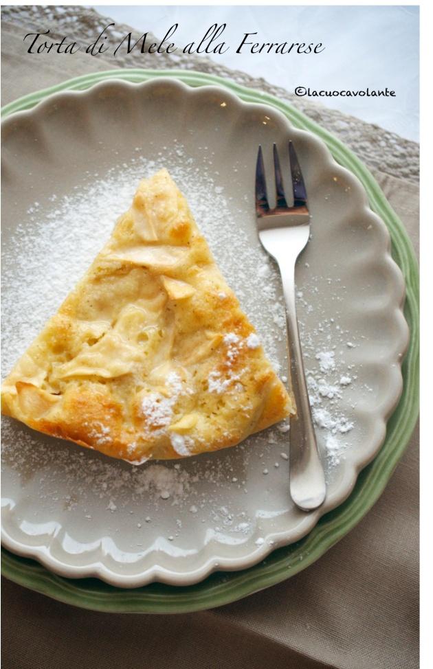 Una semplice Torta di mele ma alla Ferrarese