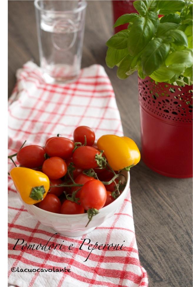 pomodori e peperoni