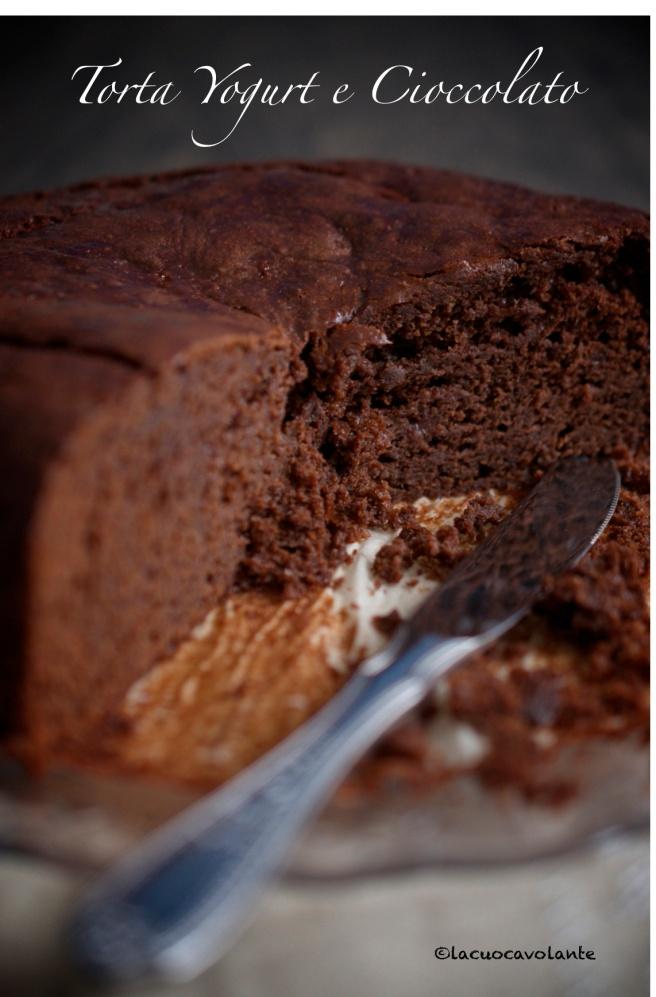 torta yogurt e cioccolato1