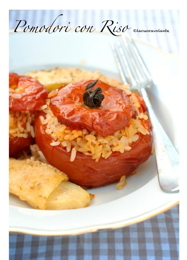 pomodori con riso